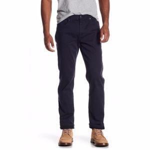 Joe's Jeans Mens Black Brixton Twill Pants Jeans